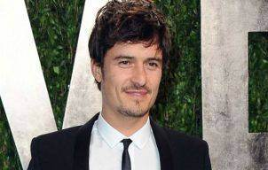 Orlando Bloom at the 2013 Vanity Fair Oscars viewing and after party