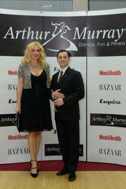 Dana Savuica si Lucian Stanila (Arthur Murray)