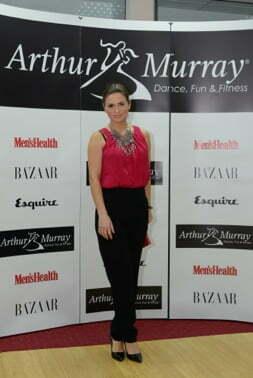 Ellie White la evenimentul Arthur Murray