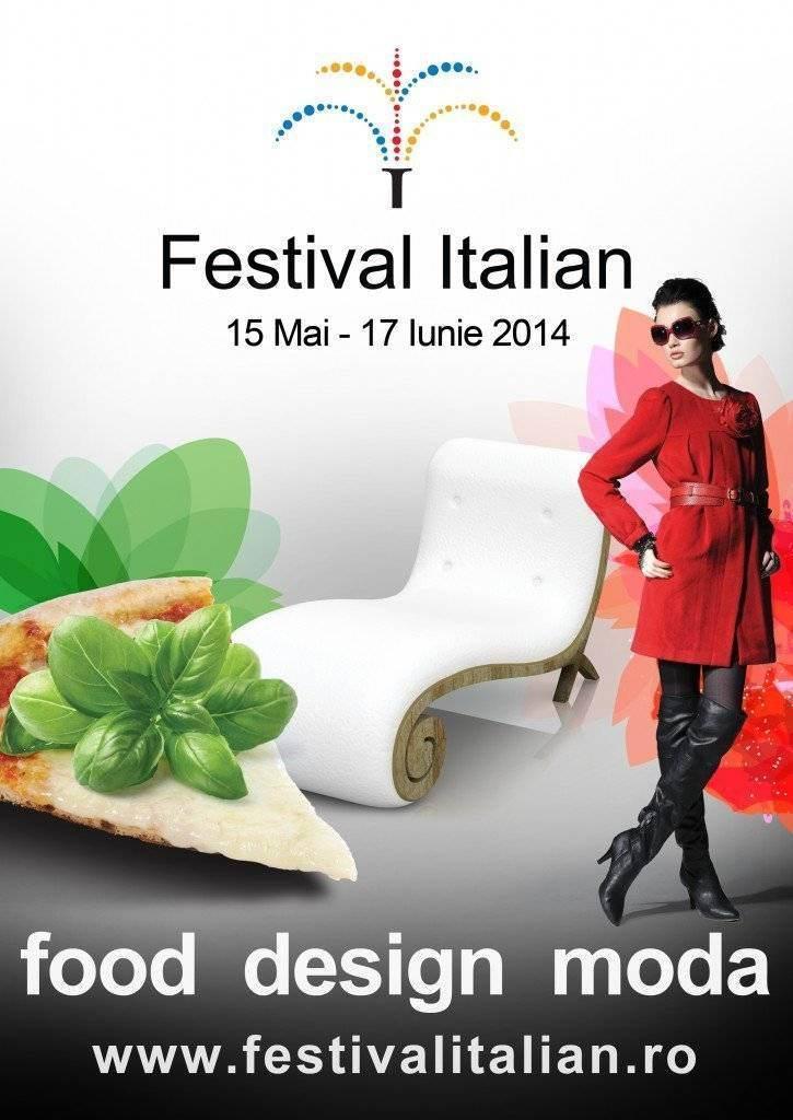 Afis Festivalul Italian