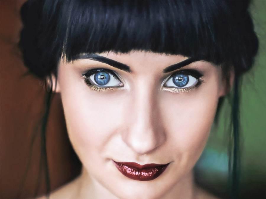 Machiajul sexy pentru ochi albastri. Cum se realizeaza