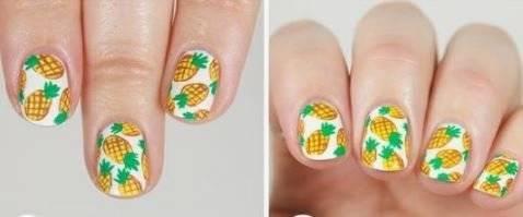 unghii ananas